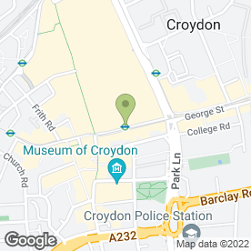 Map of Quick Stop Express in Croydon, surrey