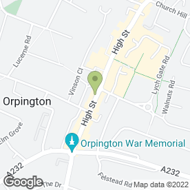 Map of MPC Mobile Phone Centre in Orpington, kent