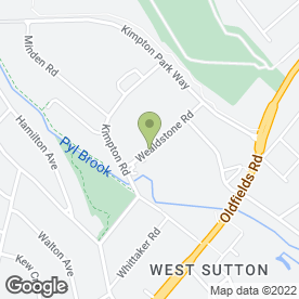 Map of ABC Catering & Party Equipment Hire Ltd in Sutton, surrey