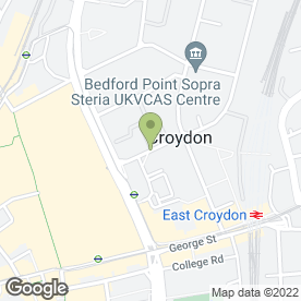 Map of Magic Eye Consulting in Croydon, surrey