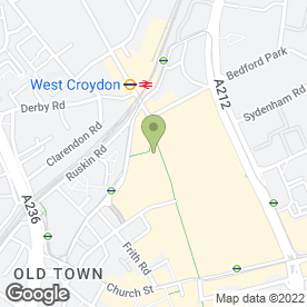 Map of Carphone Warehouse in Croydon, surrey