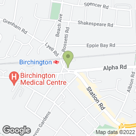 Map of Eagle Security Systems in Birchington, kent