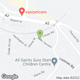 Map of ABC Bouncy Castle & Softplay Hire in Chatham, kent