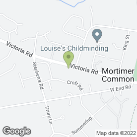 Map of Vauxhall - Spratley's of Mortimer in Reading, berkshire