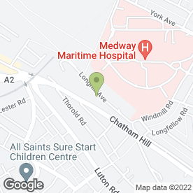 Map of J C Plastering in Chatham, kent