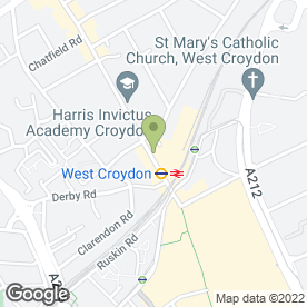 Map of Pizza Hut (UK) Ltd in Croydon, surrey