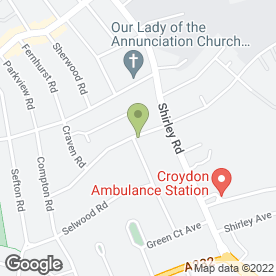Map of Walsh Containers in Croydon, surrey