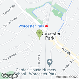 Map of TreeSurgeonUK.com in Worcester Park, surrey