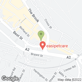 Map of Reem Hair & Beauty Ltd in Chatham, kent