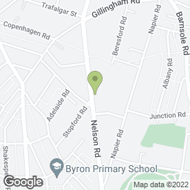 Map of DAZZLING DIVA'Z in Gillingham, kent