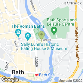 Map of Martin McColl Ltd in Bath, avon