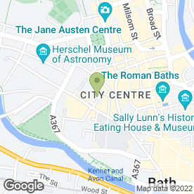 Map of Java Coffee House in Bath, avon