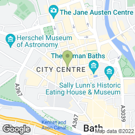 Map of All About Hair in Bath, avon