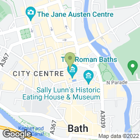 Map of Presto Retail Ltd in Bath, avon
