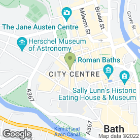 Map of Thai Balcony Mini Mart in Bath, avon