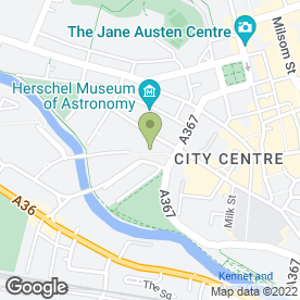 Map of Green Park Brasserie in Bath, avon