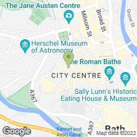 Map of Frontline Style in Bath, avon