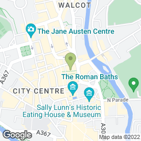 Map of NICHOLAS WYLDE in Bath, avon