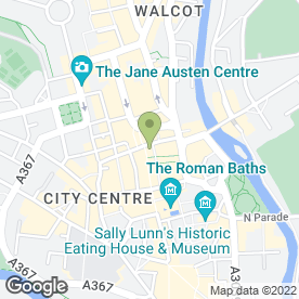 Map of KIM COLES in BATH, avon