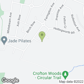 Map of Treadgold Flooring in Bromley, kent