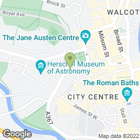 Map of Philip Jennings in Bath, avon
