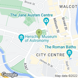 Map of Crest Estate Agents in Bath, avon