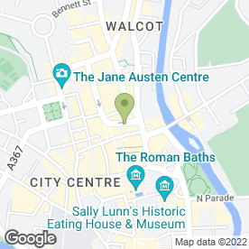 Map of Laura Ashley Ltd in Bath, avon