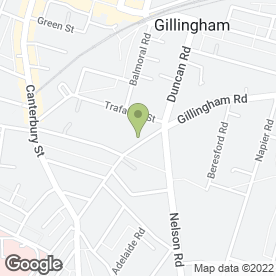Map of Fleur De Lis in Gillingham, kent