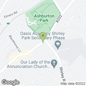 Map of Goddard Veterinary Group in Croydon, surrey