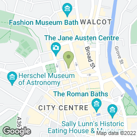 Map of Firehouse Rotisserie in Bath, avon