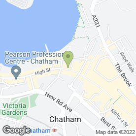 Map of Eurofoods in Chatham, kent