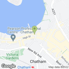 Map of PREMIER SURGERY in Chatham, kent