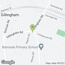 Map of Mangal BBQ Kebab House in Gillingham, kent