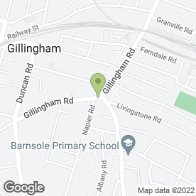 Map of Combined Business in GILLINGHAM, kent