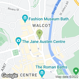 Map of Aspect Window Styling in Bath, avon