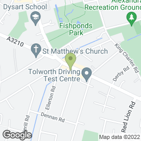 Map of Taxassist Accountants in Surbiton, surrey