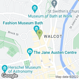 Map of Artizan Hair in Bath, avon