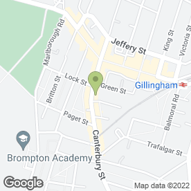 Map of Orchard Accountants in Gillingham, kent