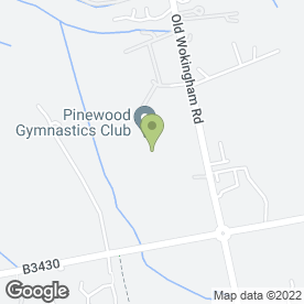 Map of PINEWOOD BAR & CAFE in Wokingham, berkshire