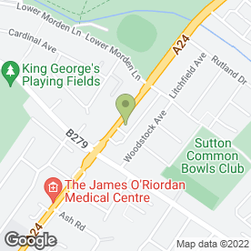 Map of Sutton Appliances in Sutton, surrey