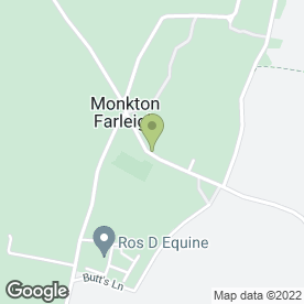 Map of Monkton Farleigh P.O in Monkton Farleigh, Bradford-On-Avon, wiltshire