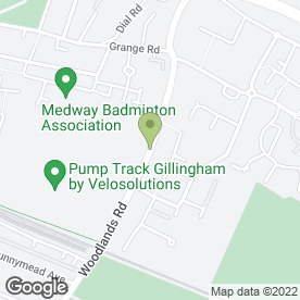 Map of Beauty Parlour in Gillingham, kent