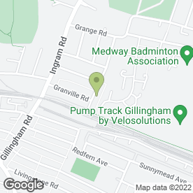 Map of Target Kickboxing in Gillingham, kent