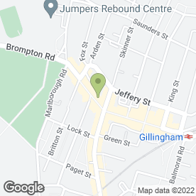 Map of Medway Pets in Gillingham, kent