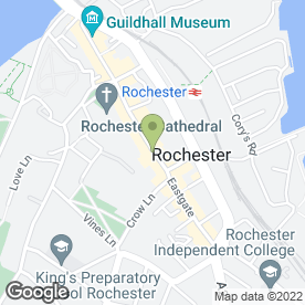 Map of Amazing Space (UK) Limited in Rochester, kent