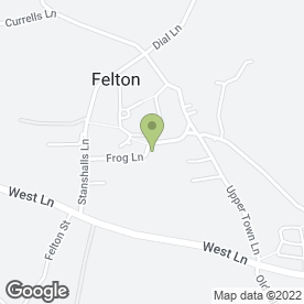 Map of Nash Cash Registers in Felton, Bristol, avon
