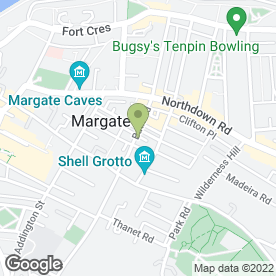 Map of Adams Bottled Gas in Margate, kent