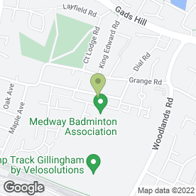 Map of Medway Minibus Travel in Gillingham, kent