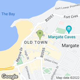 Map of Revitalize in Margate, kent