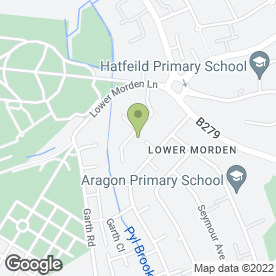 Map of Leclerk & Sons in Morden, surrey